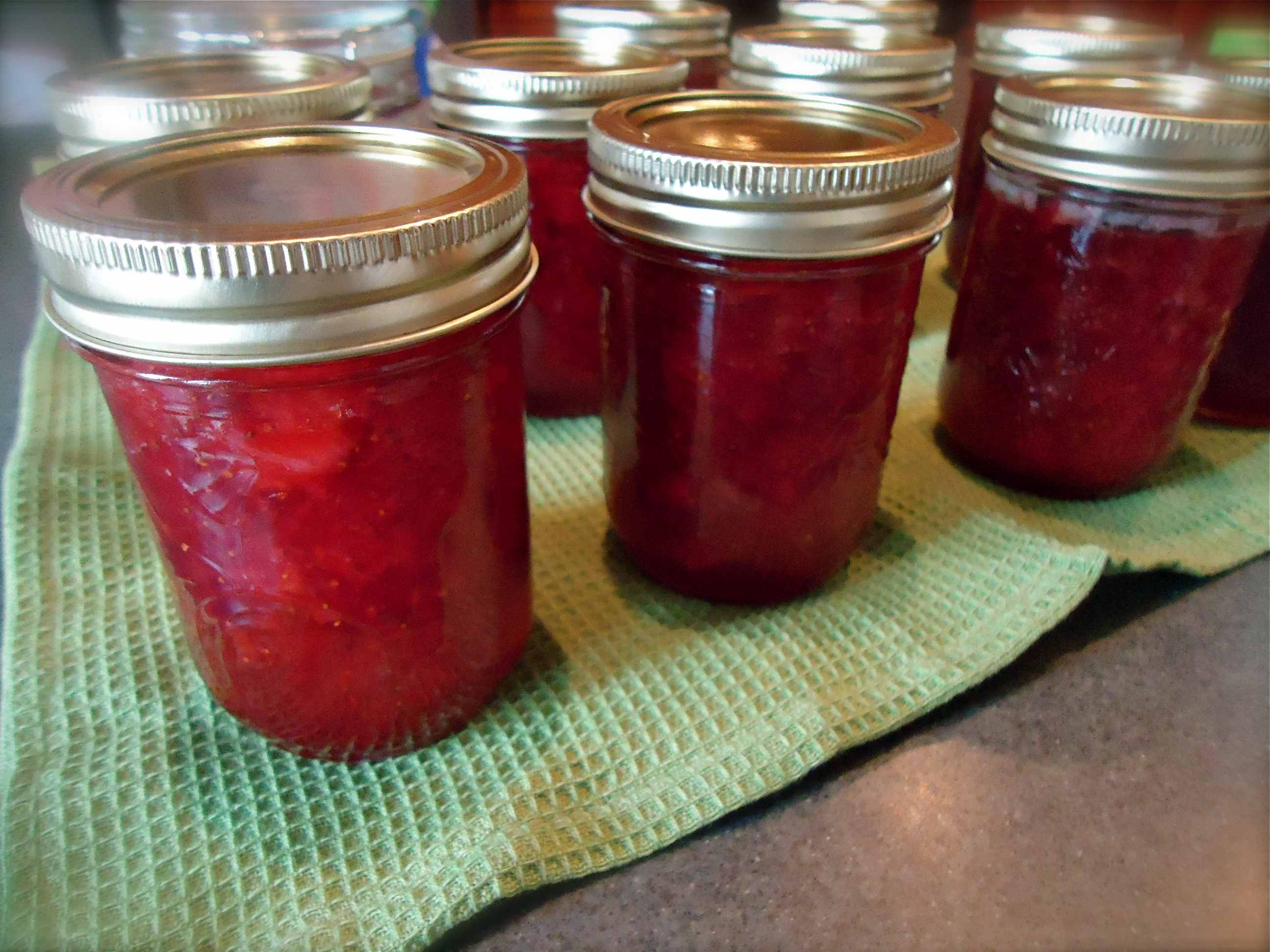 Strawberry Lemon Thyme Jam  