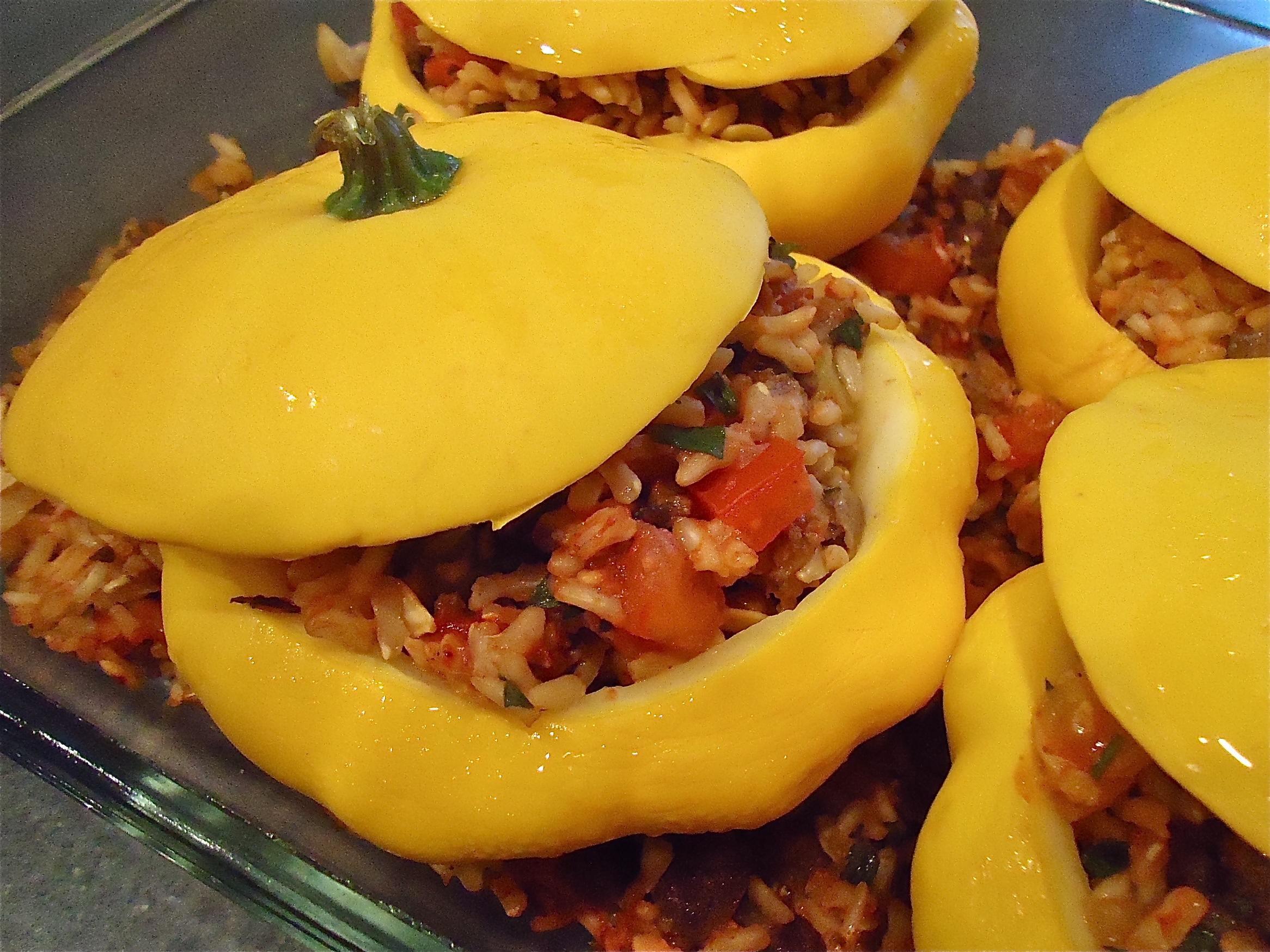 recipe: large patty pan squash recipes [7]