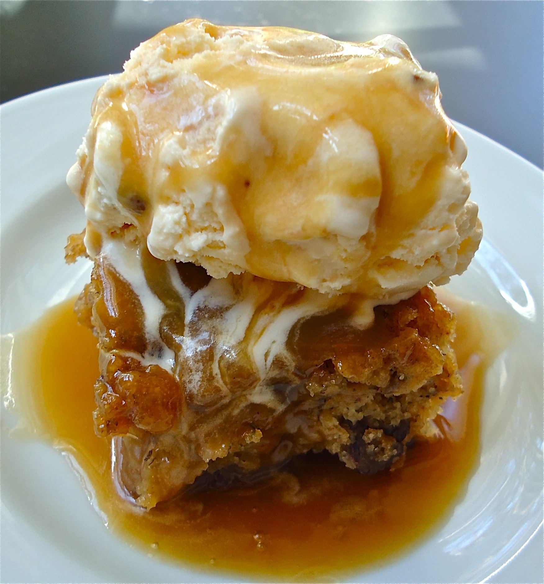 Winner, winner…sticky toffee banana pudding – for dinner?