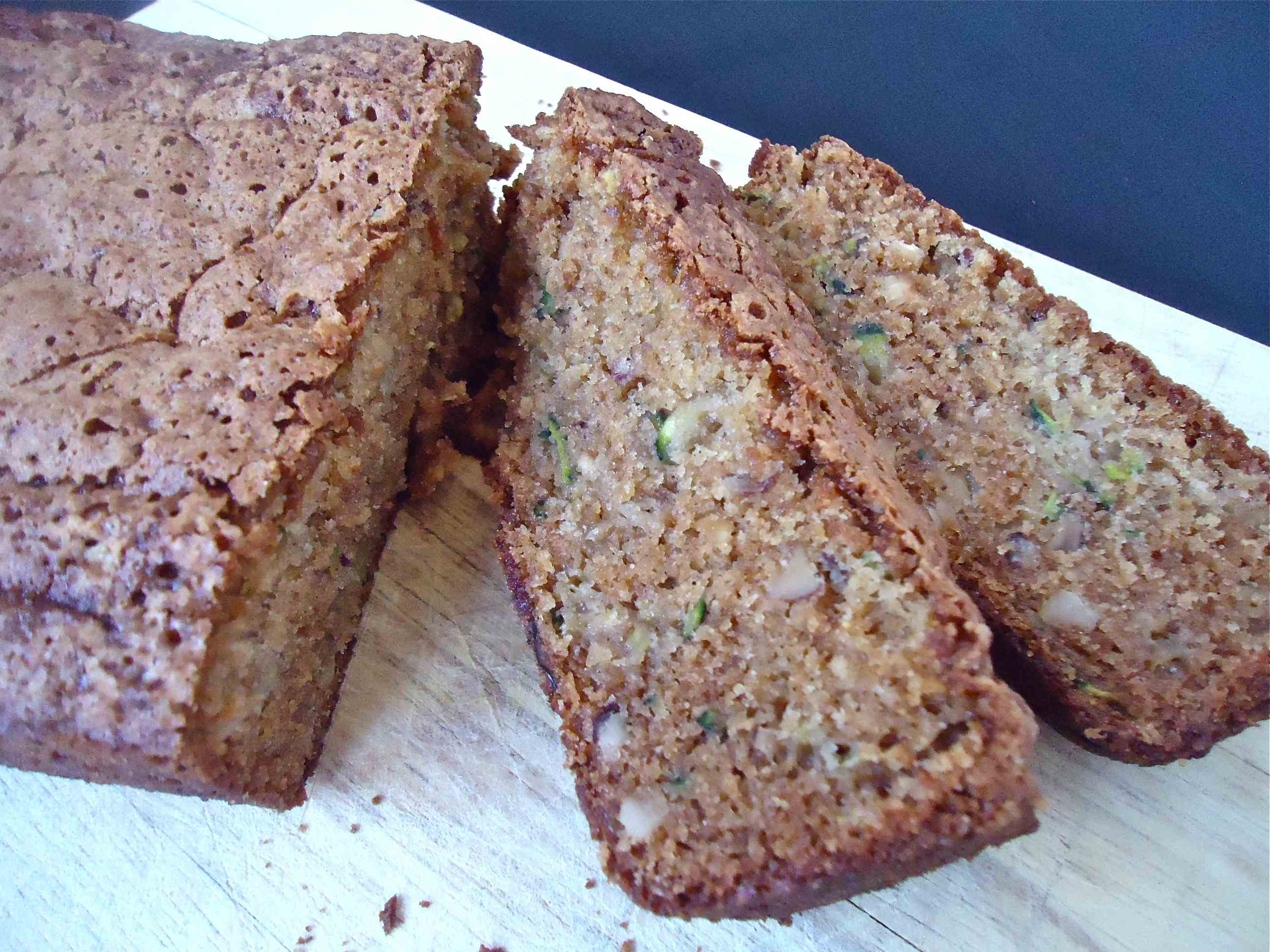 ... this is my take on zucchini bread like carrot cake quick bread made