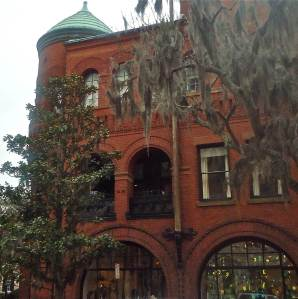 This building houses Shop SCAD - a must every time we visit.