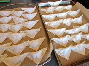 Get to work! There are pot stickers to make. Grab a friend and make a bunch at once - they freeze beautifully.