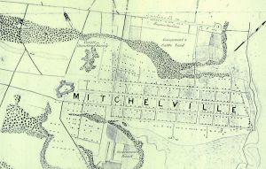 Mitcheville had 1500 residents by November 1865.