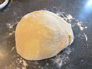 This dough is a pleasure to work with if you enjoy kneading dough by hand. I think it is somewhat theraputic myself.